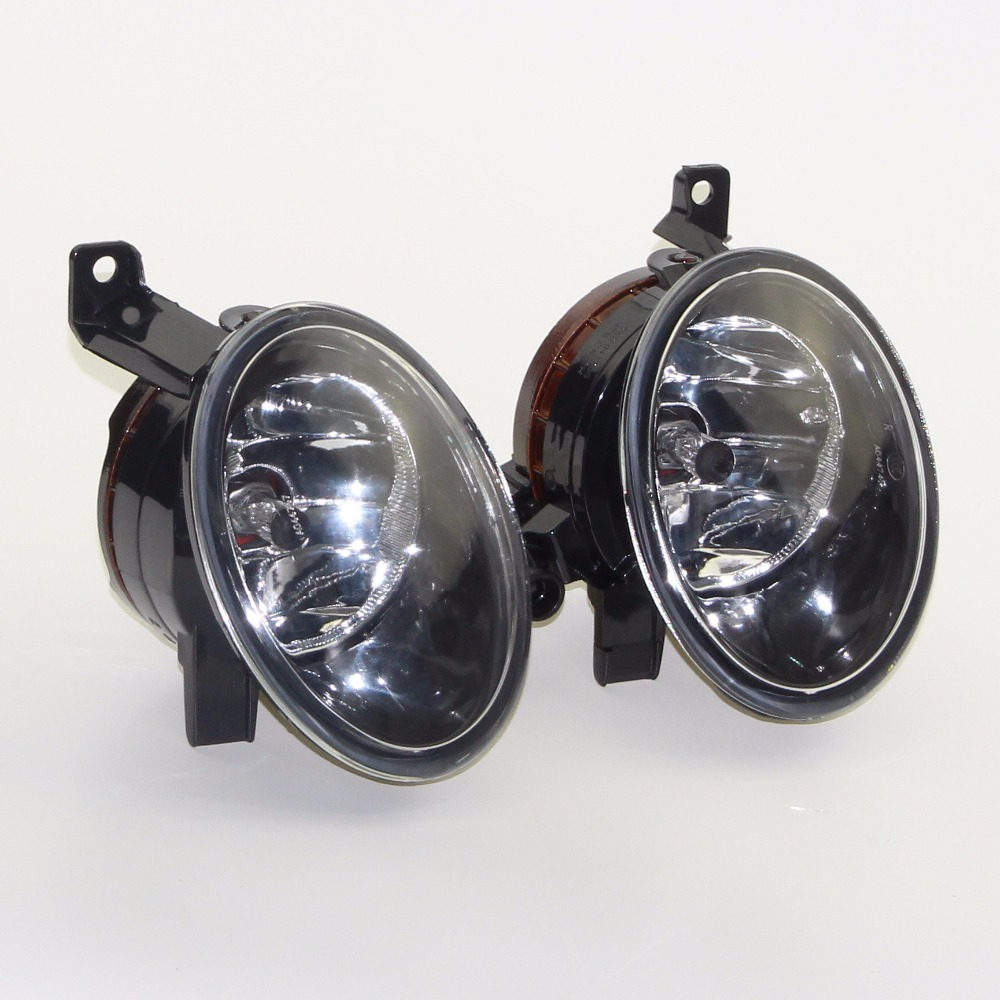 1Set  Left New & Right Front Bumper Fog Lights Fit VW Jetta 6 Golf MK6 Eos Touran Tiguan SEAT ALHAMBRA 5KD 941 699 5KD 941 700 gztophid car bifocal fog lens for volkswagen tiguan golf caddy jetta from taiwan product front bumper lights high quality