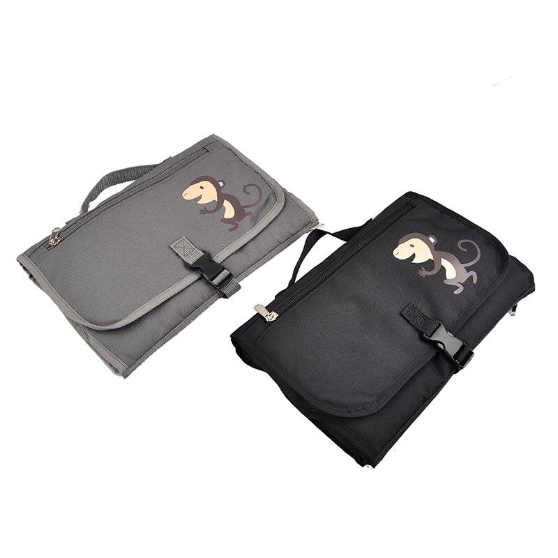 Top Sell Cartoon Monkey Quality Baby Diaper Bags Maternity Bag Multifunctional Large Capacity Tote Bag Messenger Bags