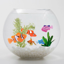 Funny Swim Electronic Robofish Activated Battery Powered Robo Toy fish Robotic Pet for Fishing Tank Decorating Fis(China)