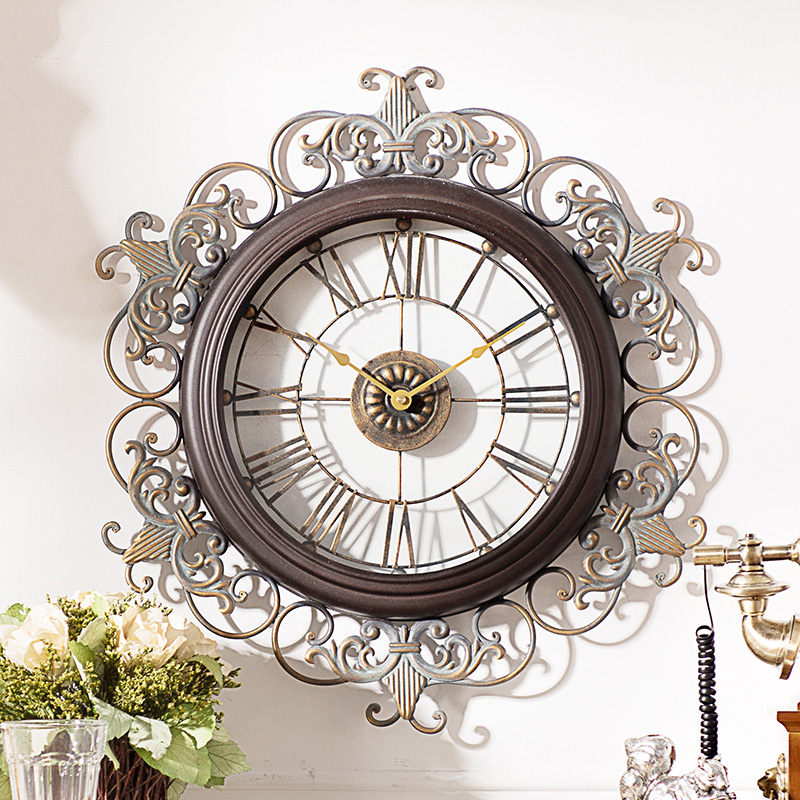 <font><b>Home</b></font> find extremely creative <font><b>decorative</b></font> clocks <font><b>western</b></font> style living room wall clock clock rococo carved J