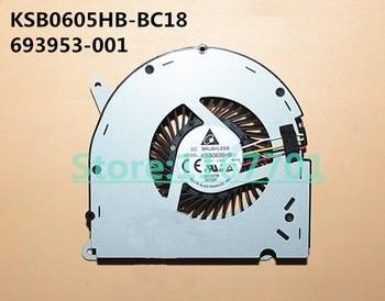 Nuevo ventilador de refrigeración para ordenador portátil/ordenador portátil Original para HP Compaq Elite 8300 AIO KSB0605HB-BC18 693953-001 DC5V 0.6A 4pin