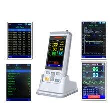 3.5 cal kolor TFT podręczny funkcje życiowe monitorowania stanu zdrowia ważny sygnał dla monitora, medyczną w nagłych wypadkach, pogotowia Monitor pacjenta