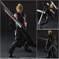 PlayArts KAI Final Fantasy VII Cloud Strife 28cm PVC Action Figures Model Toys