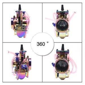 Image 5 - ZSDTRP Universale Multicolor Moto Carburatore 21 24 26 28 30 32 34 millimetri Power Jet Dirt Bike 4T PWK carburador 110cc 250cc 125cc