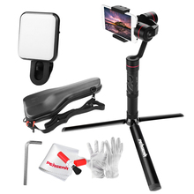 Professional Zhiyun Smooth 3 Smooth III 3 Axis Brushless Handheld Gimbal + Mini Tripod for iPhone 7 6S Plus Samsung S8 S7 Huawei