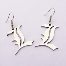 Death Note Double l Yagami Stainless Steel Earrings