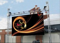 P6 P8 P10 SMD Die Casting Aluminum Outdoor Full Color LED Screen Rental