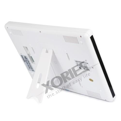 HOMSECUR 9 LCD IR puerta timbre del teléfono sistema de seguridad del hogar + 1 cámara CCTV para monitorizar - 4