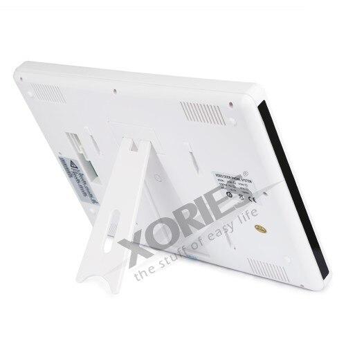Livraison ue HOMSECUR 9 LCD IR porte téléphone sonnette système de sécurité à domicile + 1 caméra de vidéosurveillance pour la surveillance - 4