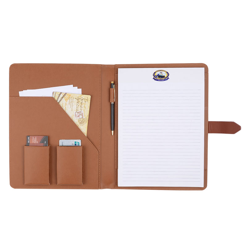 Marvelous ONLVAN Business Notebook Cover Brown Color Notebook Holders PU Leather  Notebook Folder Office Supply Support Customized In Notebooks From Office U0026  School ...