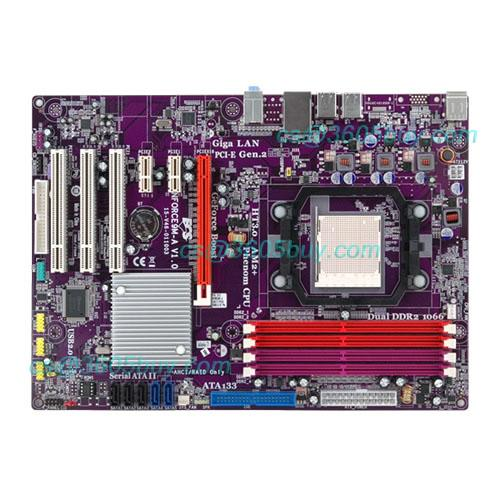 Nforce9m-a nf9 motherboard am2 am3 770 quad-core motherboard