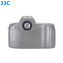JJC okrągły wizjer ochraniacz okularu Eyecup dla Nikon D850 D810A D810 D800E D800 D700 D500 D5 zastępuje Nikon DK 17 oczu puchar