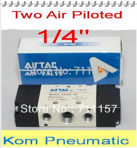 5x Free Shipping 1 4 inch Air Valve 4A220 08 5 Way 2 Pos Pneumatic Air