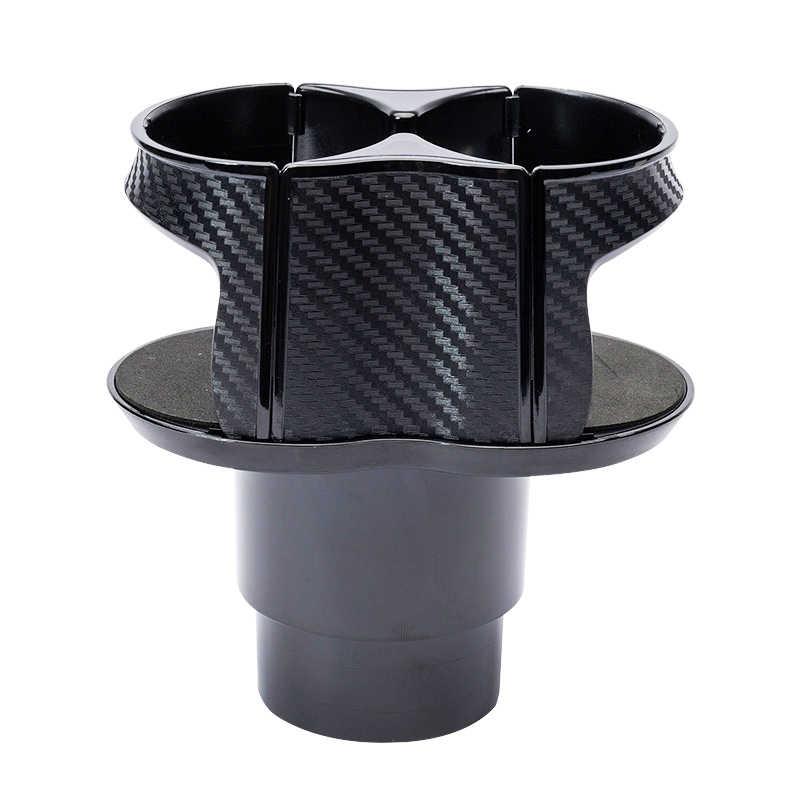 Soporte Universal para bebidas de coche 2 tazas soporte para botellas soporte organizador de coche montaje ajustable bebida Auto camión