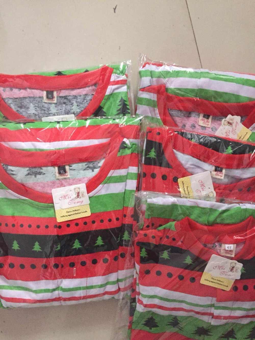 ครอบครัวดู Onesies ชุดนอนคริสต์มาสครอบครัวชุดแม่ลูกสาวลูกชายพ่อเสื้อผ้าเด็กคริสต์มาสครอบครัวชุดนอน