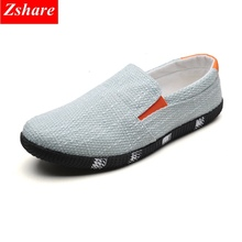 Mens Loafers Men Shoes Casual Zapatillas hombre 2019 Summer Breathable Slip on Canvas Shoes High Quality Driving Shoes Men Flats hot sale fashion flats mens casual shoes men zapatillas hombre air mesh and leather breathable elastic band summer loafers