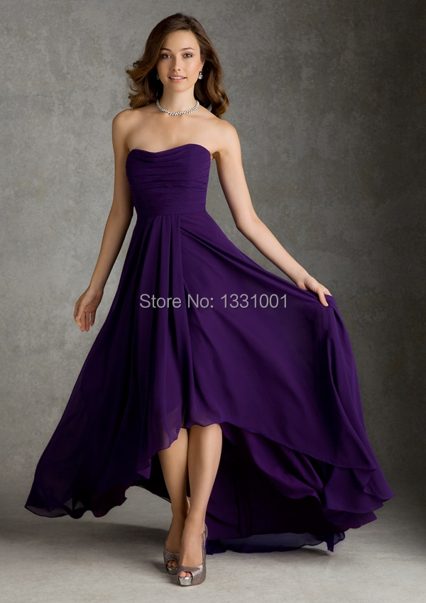 Online Buy Wholesale deep purple bridesmaid dresses from China ...