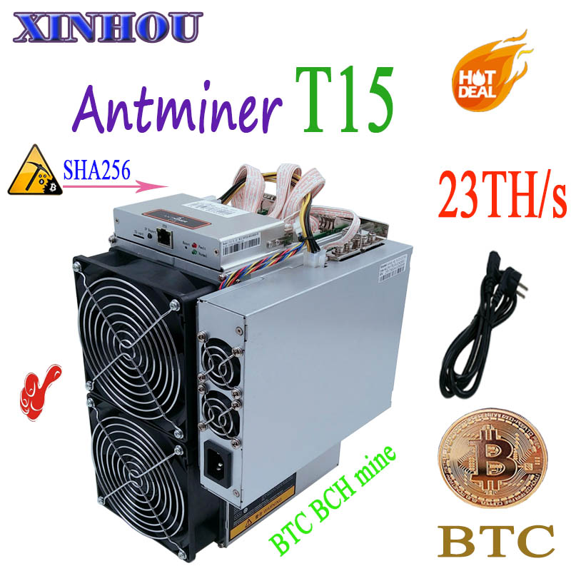 Used BITMAIN Asic miner AntMiner T15 23T 7nm SHA256 With PSU Bitcoin Miner Better Than S9 T9 WhatsMiner M3 M10 Innosilicon T2Used BITMAIN Asic miner AntMiner T15 23T 7nm SHA256 With PSU Bitcoin Miner Better Than S9 T9 WhatsMiner M3 M10 Innosilicon T2