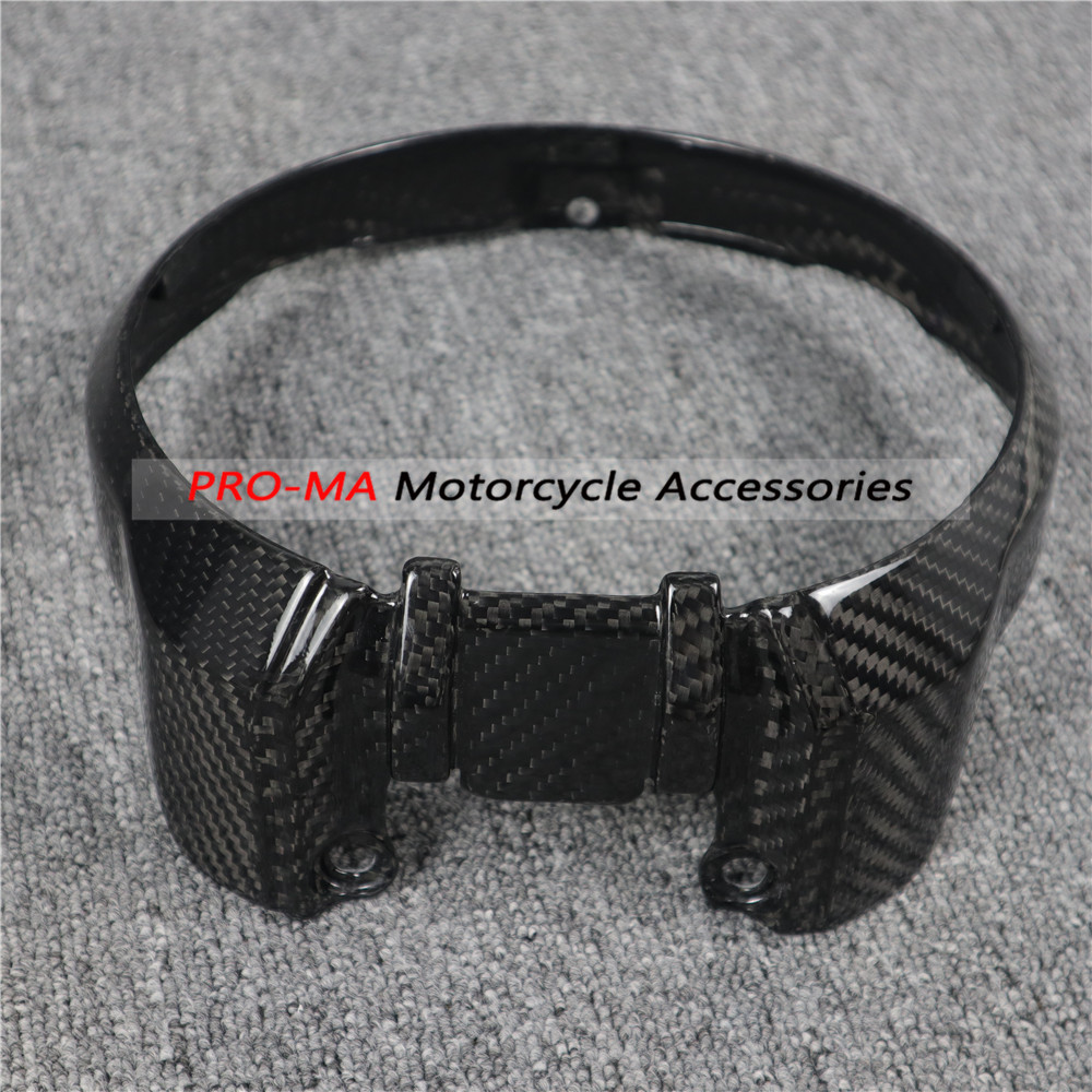 Motorcycle Headlight Rim Cover In Carbon Fiber For Honda CB1000R 2018+ Twill