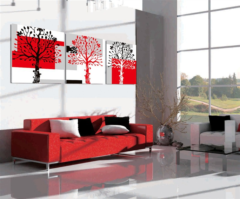 3 Panels Art Modern Decorative Painting Picture Canvas