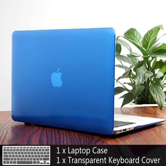 PFHEU New Laptop Case For Apple macbook Air Pro Retina 11 12 13 15 laptop bag for macbook Air 13 case cover+ Keyboard Cover