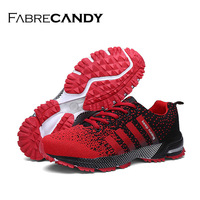 High Quality Women Men Shoes Causal Fly Weave Fashion Flat Women Shoes Men Trainers Breathable Light