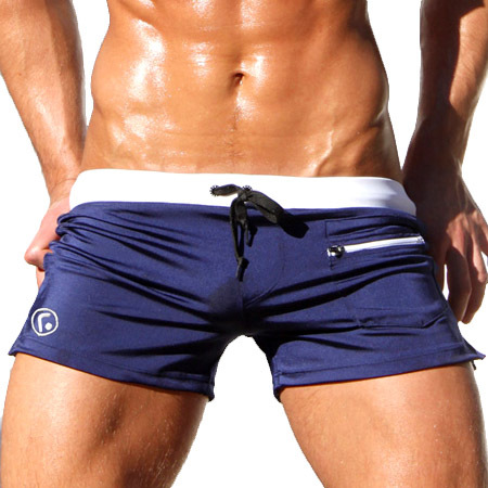 Brand Mens Man Summer Swimwear Swimsuits Swimming Boxer Shorts Sports Suits Surf Board Shorts Trunks Men Swim Suits
