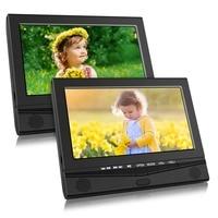 Pumpkin 10.1''Portable Car Headrest Dual DVD Player 1024*600 HD Dual Screen Car Monitor Headrest With USB/SD/HDMI/FM Transmitter