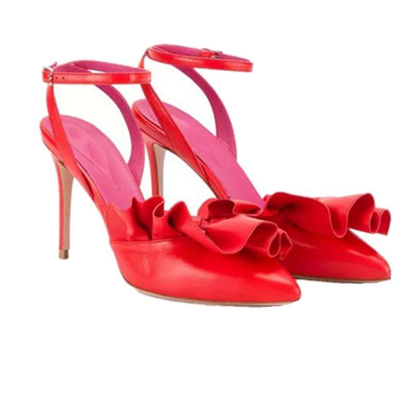 Show Hochzeit Zapatos Partei Schuhe Sexy as Elegante Farbe Pumpen Neue Mode Mujer Mixed Wome De Ponited Stilettos As Toe Damen Schnalle 9cm gtwFxqnH