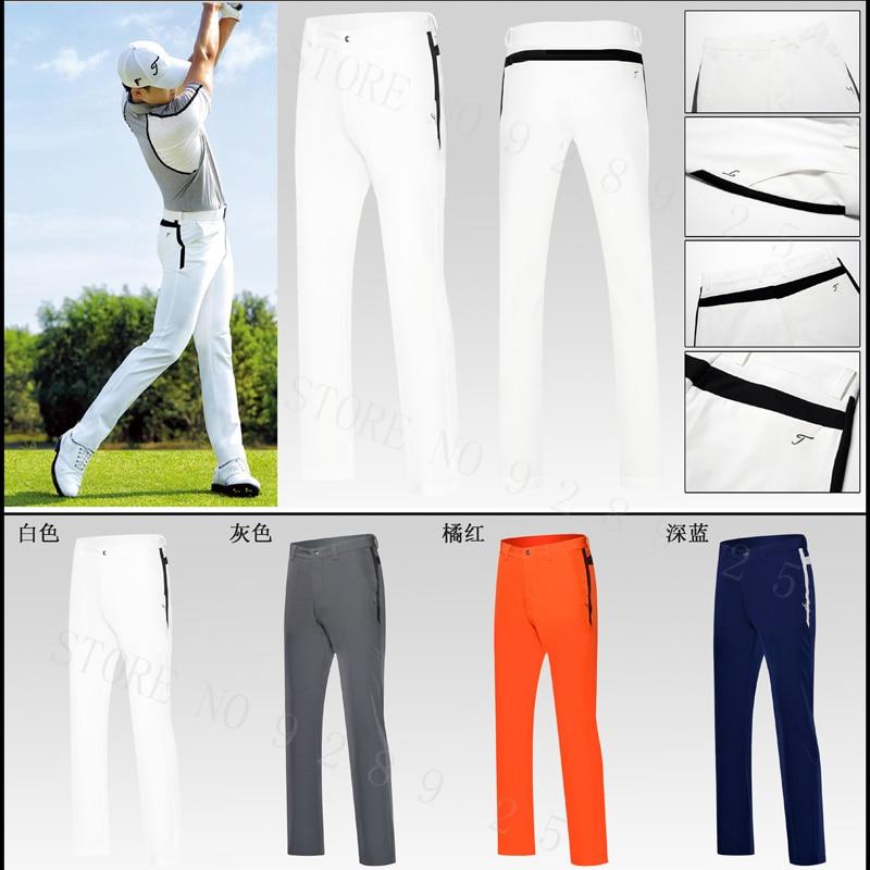 New Men Pants Golf Sports Trousers Autumn all-match Korean Slim Long Pants Spring Golf Apparel 4 Colors Men Brand Golf Pants цена