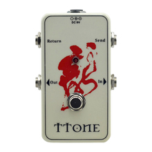 True-Bypass Looper Effect Pedal Guitar Looper white Switcher for guitar pedal  switch