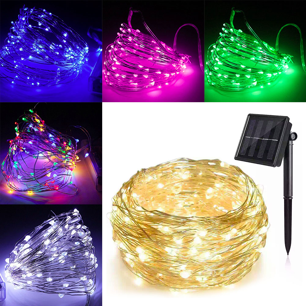 Led Lighting Helpful Lyfs 5m 10m 20m Solar Led Copper Wire String Light Outdoor Waterproof Fairy Lights For Holiday Garden Party Wedding Decoration Cheapest Price From Our Site