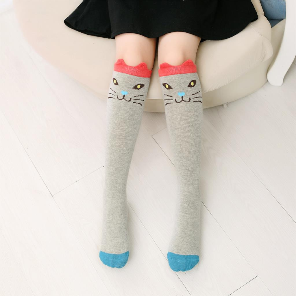 Cartoon-Cute-Children-Socks-Print-Animal-Cotton-Baby-Kids-Socks-Knee-High-Long-Fox-Socks-For-Toddler-Girl-Clothing-Accessories-3