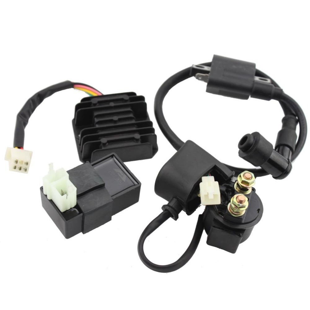 GOOFIT ملف الإشعال لفائف CDI Regulator Rectifier for 150 200 250 Cc Chinese ATV Group-90