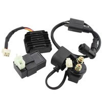 GOOFIT Ignition Coil CDI Regulator Rectifier Relay Kit For 150 200 250 Cc Chinese ATV Group