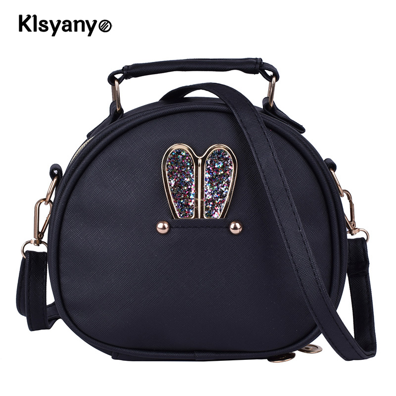 Klsyanyo Casual PU Leather Women Shoulder Bag Small Vintage Womens Handbag Female Shopping Totes Flap Party Purse Clutches