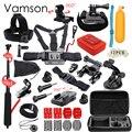 Vamson Gopro Аксессуары Для Go Pro Hero 5 4 3 комплект Selfie Палка Монопод Для Eken h8r/xiaomi yi ЕВА случае VS85