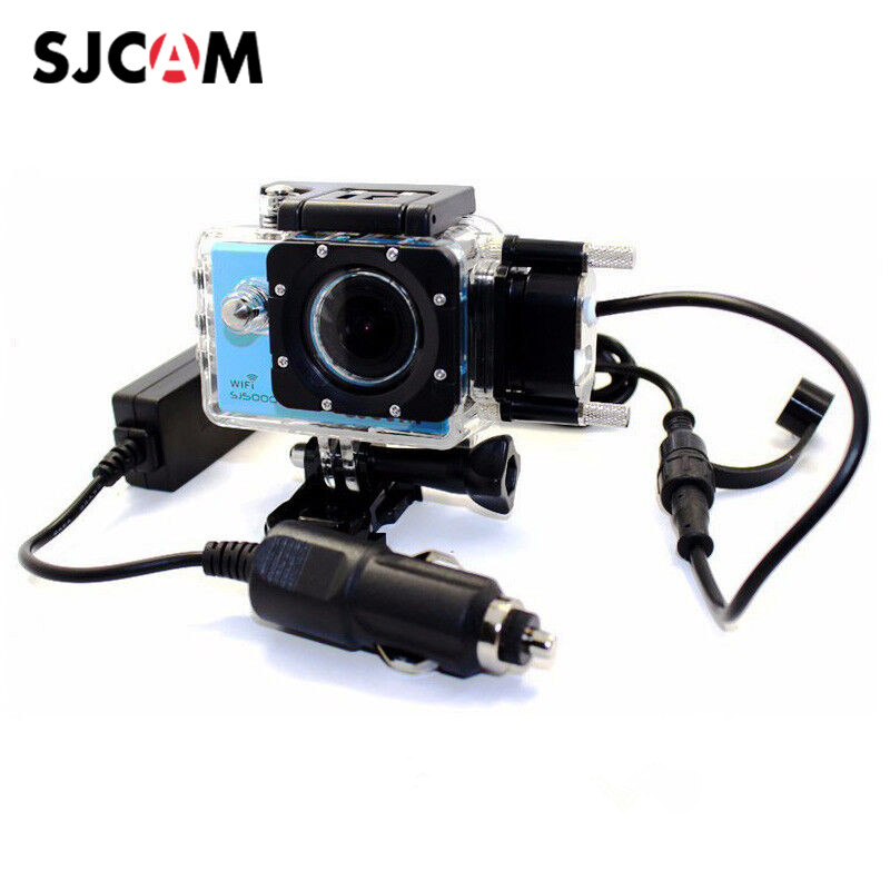 SJCAM Motorcycle Waterproof Case for SJCAM SJ5000 / SJ4000 Series Charging Case sj cam SJ5000X Elite Action Camera Accessories