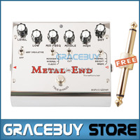 Biyang Tonefancier Metal End Pro 18 Distortion Modes Electric Guitar Effect Pedal True Bypass New