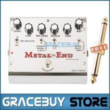 Biyang Tonefancier Metal End Pro 18 distorsión modos eléctrica efectos de guitarra Pedal True Bypass nuevo