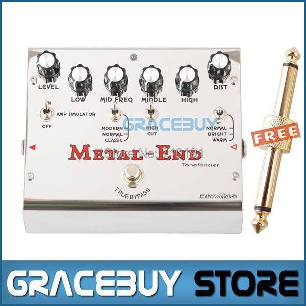 Biyang Tonefancier Metal End Pro 18 Distortion Modes Electric Guitar Effect Pedal True Bypass New