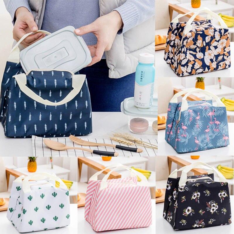 2018 Neue Stil Mode Tragbare Wasserdichte Thermische Kühler Isolierte Lunch Box Lagerung Picknick Tasche Tasche