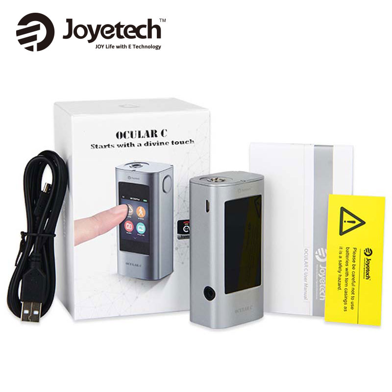 HOT Joyetech Ocular C 150W Box Mod Vaping Bluetooth touchscreen Mod CTP Screen Mod 150W e
