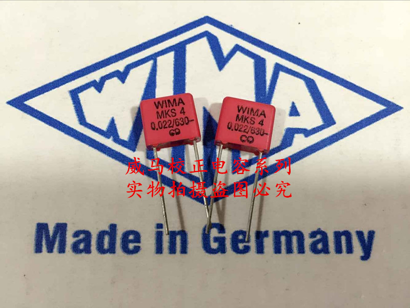 2019 hot sale 10pcs/20pcs German capacitor WIMA MKS4 630V 0.022UF 630V 223 22nf P: 7.5mm Audio capacitor free shipping2019 hot sale 10pcs/20pcs German capacitor WIMA MKS4 630V 0.022UF 630V 223 22nf P: 7.5mm Audio capacitor free shipping