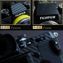 Película protectora de la cámara para fujifilm xh1 x h1 piel del cuerpo de la Cámara anti corrosión a prueba de arañazos cubierta de adorno de abrasión