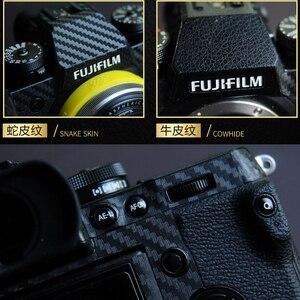 Image 1 - מצלמה מגן סרט עבור fujifilm xh1 x h1 מצלמה גוף עור נגד קורוזיה שריטות הוכחה כיסוי עד שחיקה קישוט