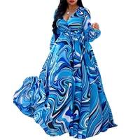 floal printed boho style dresses woman Summer Elegant long dress maxi 2018 New sundress party casual femme Vestidos WS8403y