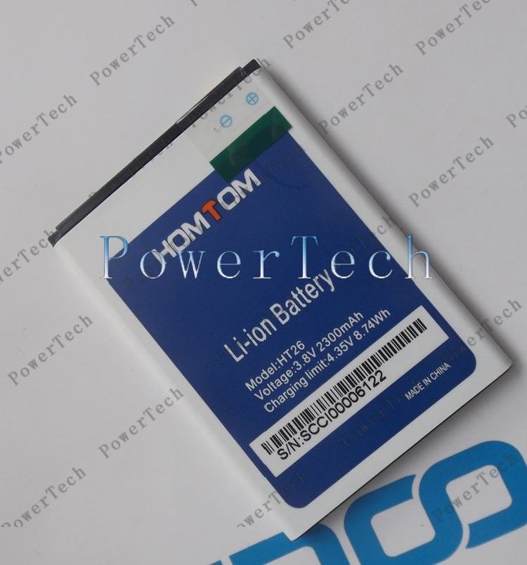 100% Original HT26 Battery Replacement 4.5inch HOMTOM HT26 Mobile Phone Battery