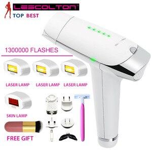 Image 1 - Lescolton T009 1300000 Keer Depiladora Laser Ontharing Machine Laser Epilator Ontharing Bikini Trimmer Elektrische Epilator