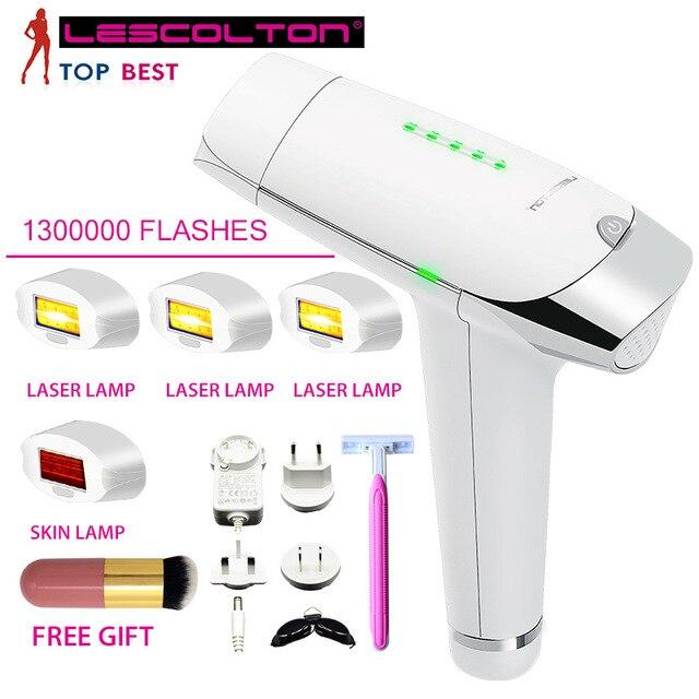 Lescolton T009 1300000 Keer Depiladora Laser Ontharing Machine Laser Epilator Ontharing Bikini Trimmer Elektrische Epilator